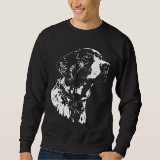 Camisetas alemán del perro del indicador de la sudadera