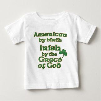 Camisetas americanas irlandesas del niño del