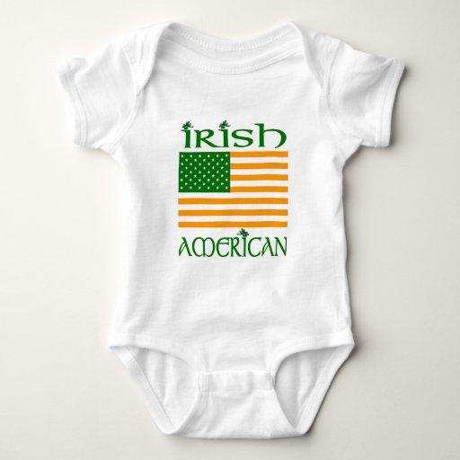 Camisetas americanas irlandesas playera
