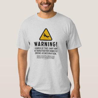 Camisetas amonestador de la huelga del abejón remera