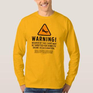 Camisetas amonestador de la huelga del abejón remeras