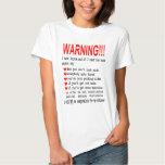 Camisetas amonestadoras del lupus polera