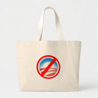 Camisetas antis de NOBAMA Obama, tazas, sudaderas  Bolsa Tela Grande