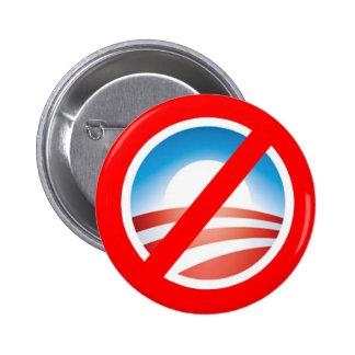 Camisetas antis de NOBAMA Obama, tazas, sudaderas  Pin Redondo De 2 Pulgadas