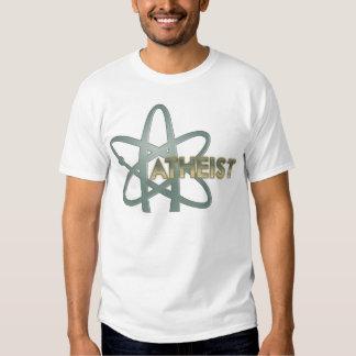 Camisetas ateo (del símbolo ateo americano poleras