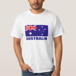 Camisetas australianas de la bandera