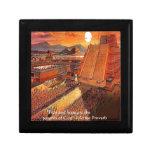 Camisetas aztecas y tarjetas de los regalos del im cajas de regalo