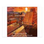 Camisetas aztecas y tarjetas de los regalos del im tarjetas postales