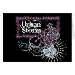Camisetas Biking y regalos de la tormenta urbana Felicitacion