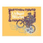 Camisetas Biking y regalos de la tormenta urbana Postales
