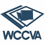 Camisetas bordado WCCVA Sudadera Bordada