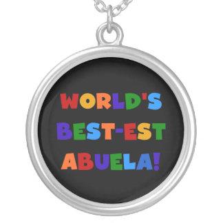 Camisetas brillantes de los colores del Mejor-est  Pendiente Personalizado