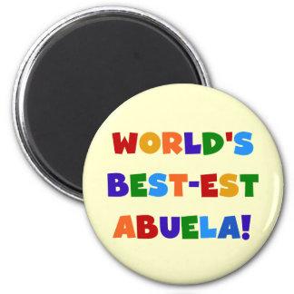 Camisetas brillantes de los colores del Mejor-est Imanes De Nevera