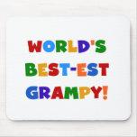 Camisetas brillantes y regalos del Mejor-est Gramp Tapetes De Ratones
