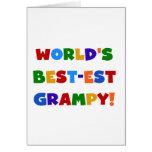 Camisetas brillantes y regalos del Mejor-est Gramp Tarjetas