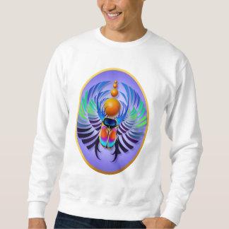 Camisetas caliente del óvalo de la luz del