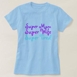 Camisetas cansadas estupendas y camisetas de la