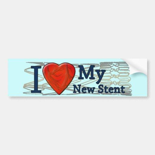 Camisetas cardiacas del Stent de los regalos el    Pegatina Para Auto