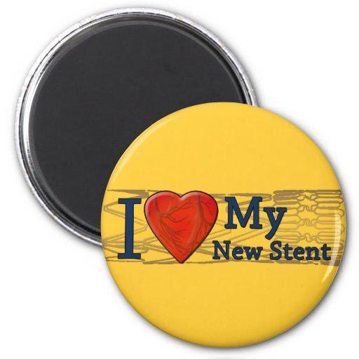 Camisetas cardiacas del Stent de los regalos el    Imán Redondo 5 Cm