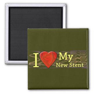 Camisetas cardiacas del Stent de los regalos el |  Imán Para Frigorífico