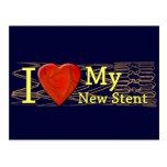 Camisetas cardiacas del Stent de los regalos el |  Tarjetas Postales