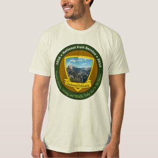 Camisetas centenarias Yosemite del parque nacional Playera