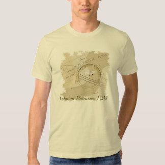 Camisetas clásicas de la aviación poleras