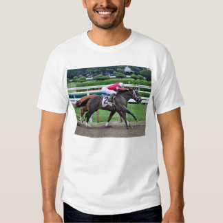 Camisetas clásicas de la carrera de caballos de playera