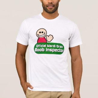 Camisetas clásico 2010 del inspector del Boob del