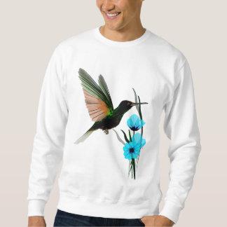 Camisetas Colibrí-Azul verde de las flores