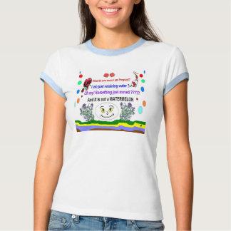 Camisetas cómico de las señoras del embarazo remera