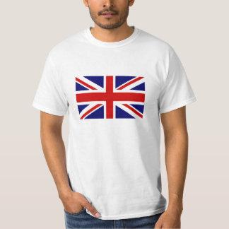 Camisetas con la bandera británica de Union Jack