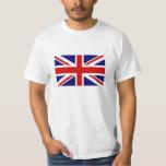 Camisetas con la bandera británica de Union Jack Playera