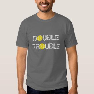 Camisetas con lema o decir divertido del tenis playeras