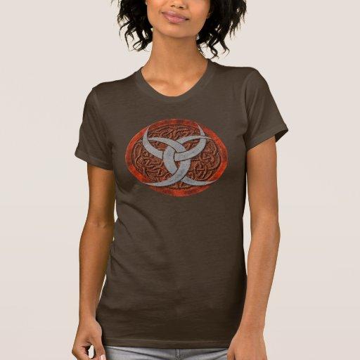 Camisetas crecientes triples de Wiccan