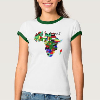 Camisetas de África Remeras