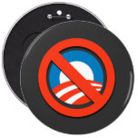 Camisetas de Anti-Obama, botones, pegatinas Pin