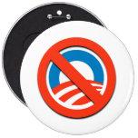 Camisetas de Anti-Obama, botones, pegatinas Pins