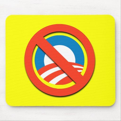 Camisetas de Anti-Obama, botones, pegatinas Alfombrilla De Ratones