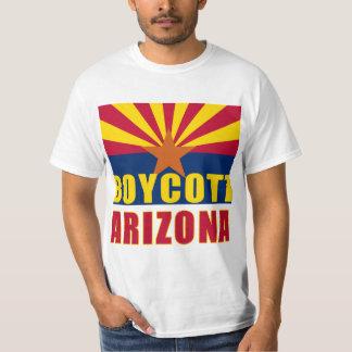 Camisetas de ARIZONA del BOICOTEO, botones, Playera