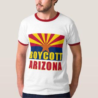 Camisetas de ARIZONA del BOICOTEO, botones, Remeras