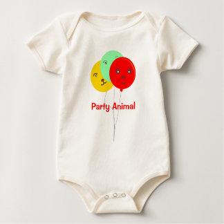 Camisetas de BalloonsT del juerguista 3 Enterito