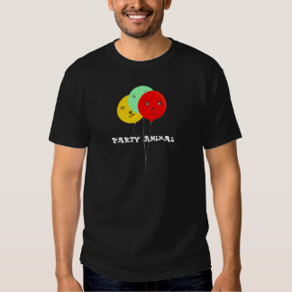 Camisetas de BalloonsT del juerguista 3 Playera