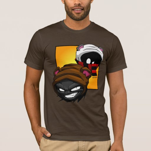 Camisetas de Brunzy y de Grimz
