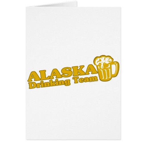 Camisetas de consumición del equipo de Alaska Felicitacion