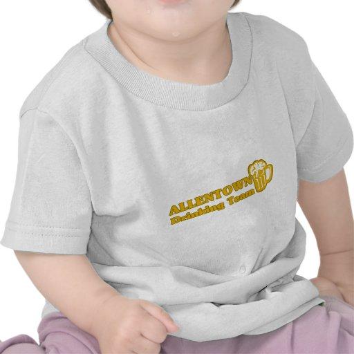 Camisetas de consumición del equipo de Allentown