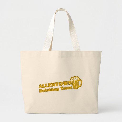 Camisetas de consumición del equipo de Allentown Bolsas