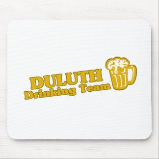 Camisetas de consumición del equipo de Duluth Tapetes De Ratones