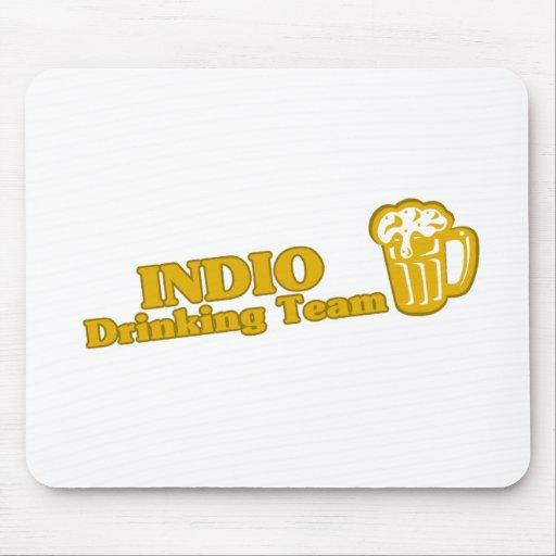 Camisetas de consumición del equipo de Indio Alfombrilla De Raton