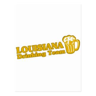 Camisetas de consumición del equipo de Luisiana Tarjetas Postales